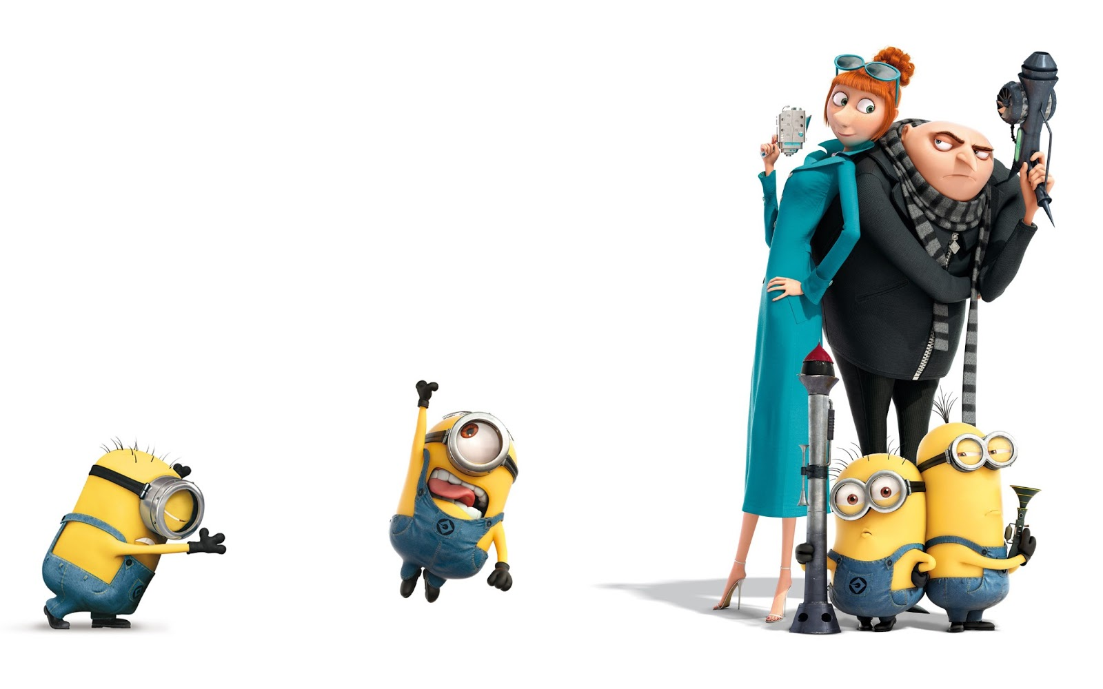 despicable me girls meet gru