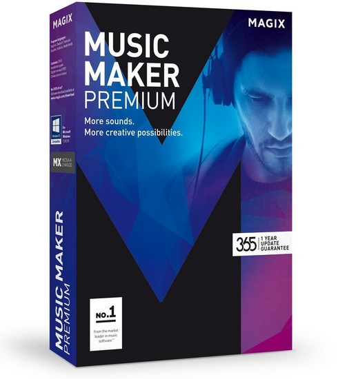 MAGIX Music Maker 2016 Premium 22.0.3.63