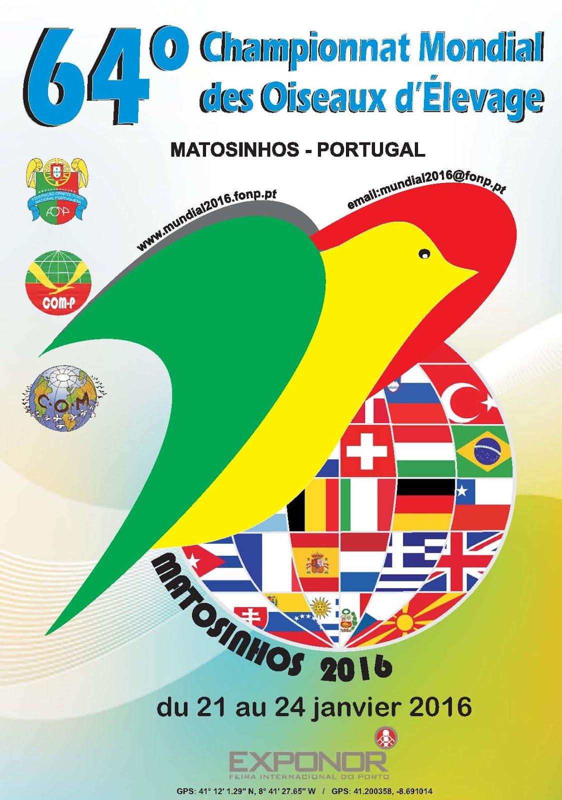 64º campeonato Mundial de aves de exposição