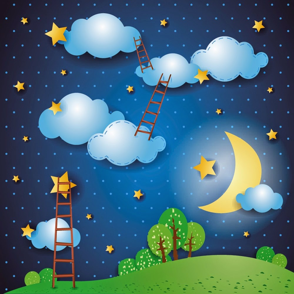 un niño comienza a soñar