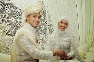 Fouziah Gous dan Md Zhafran Berkahwin