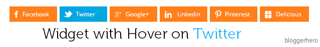 Actual Share Widget