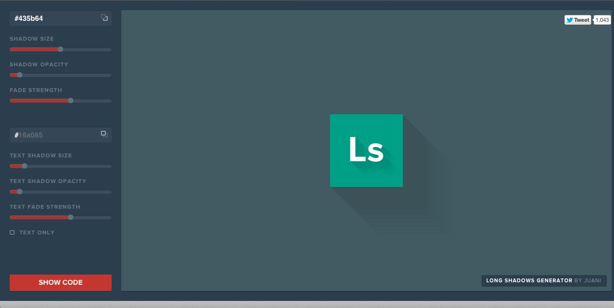 Comment faire (rapidement) des long shadows en CSS3, A Unix Mind In A Windows World