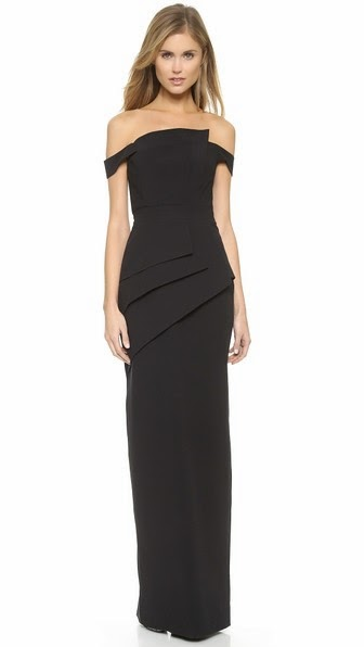 Black Halo Eve La Reina Gown