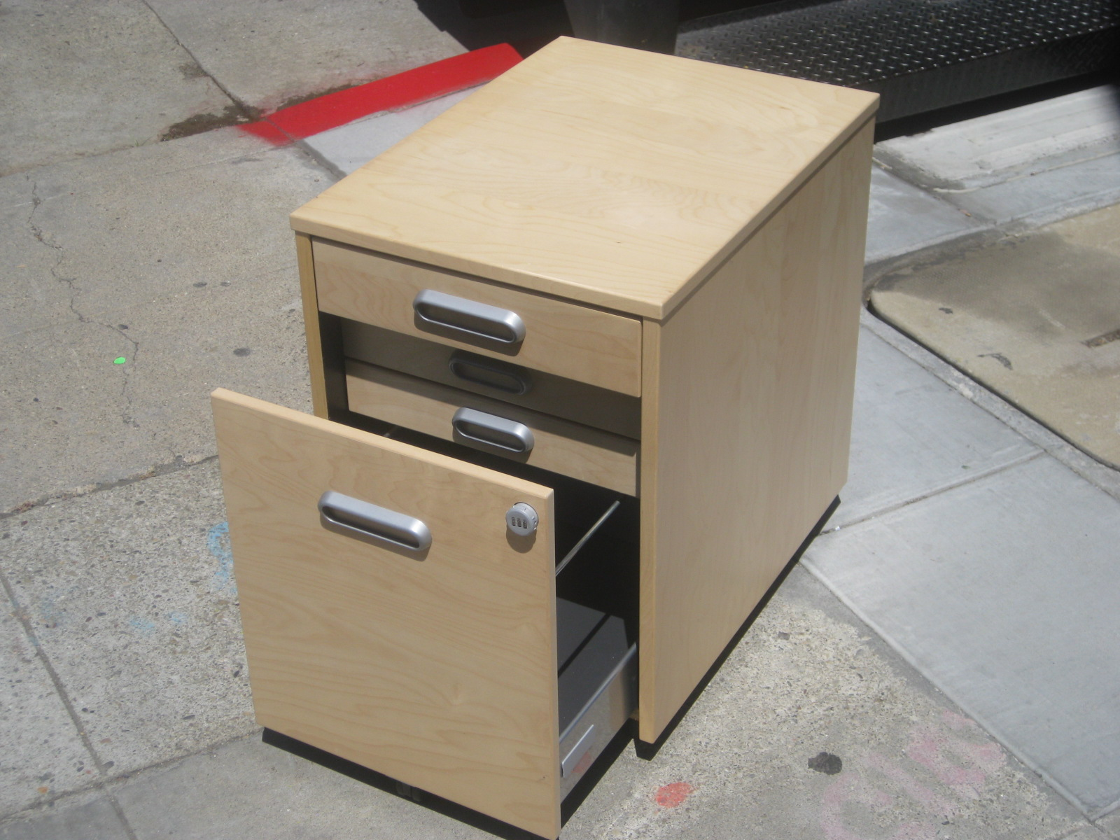 UHURU FURNITURE & COLLECTIBLES: SOLD - Ikea Galant File Cabinet (w ...