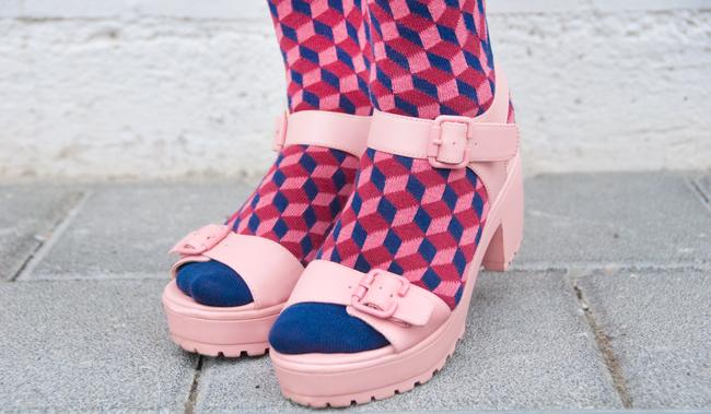 Dilly Socks, socks with sandals, patterned socks