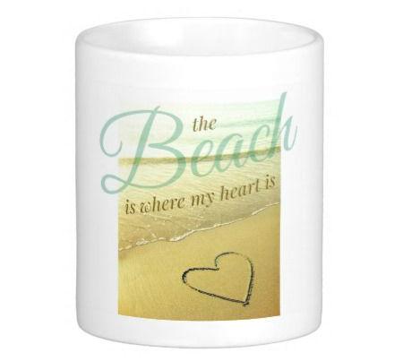 Beach Mug with Quote