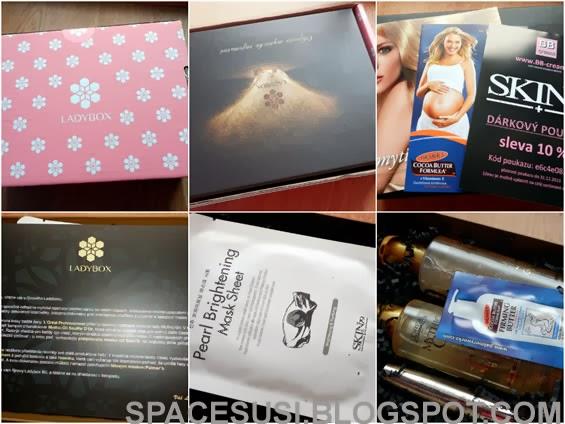 říjen ladybox, recenze kosmetiky