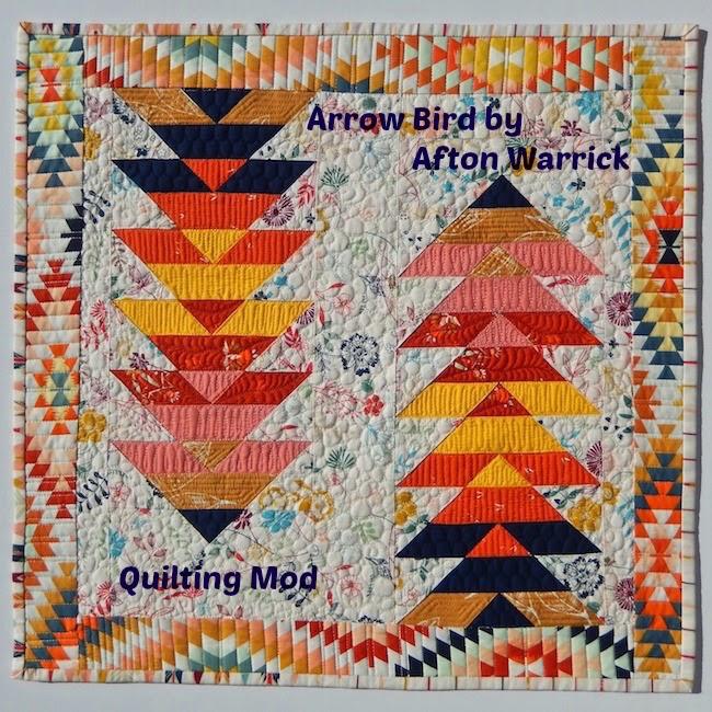 Arrow Bird by Afton Warrick @ Quilting Mod