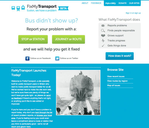 Basic Rules Of Redevelopment : MILE END RESIDENTS NEWS: FixMyTransport starts today!