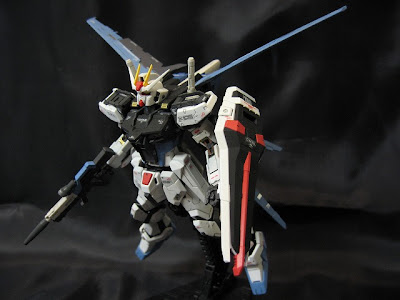 RG Aile Strike Gundam Model