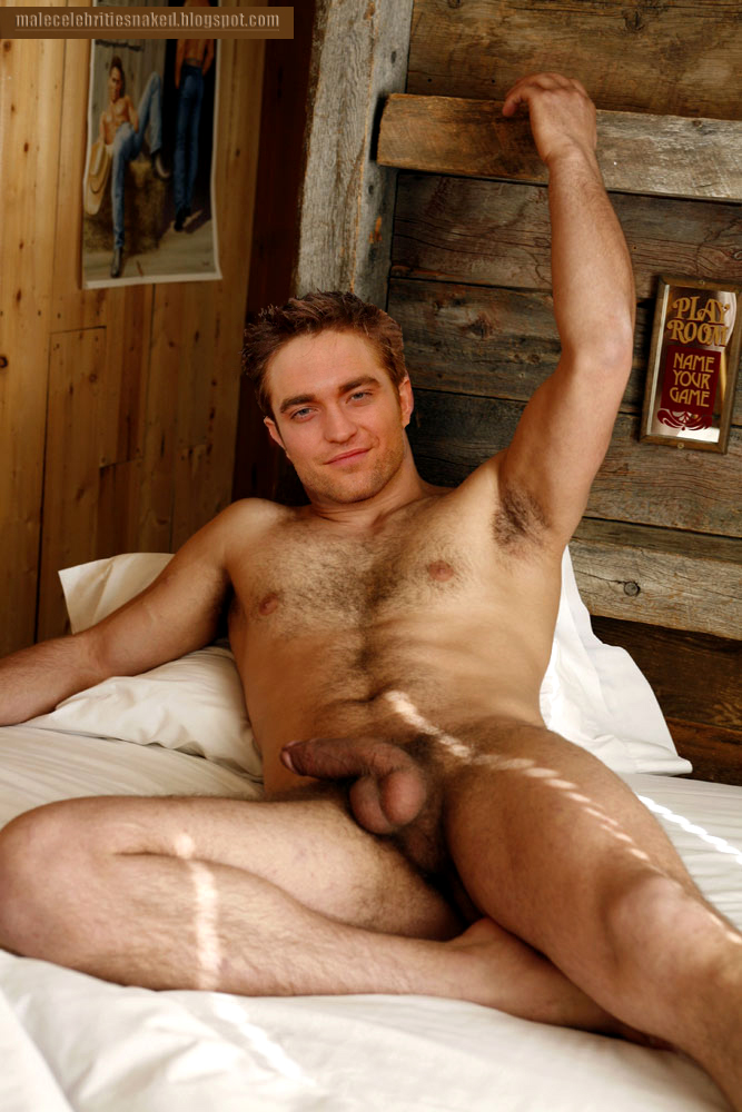 Robert have orgasm pattinson Naked