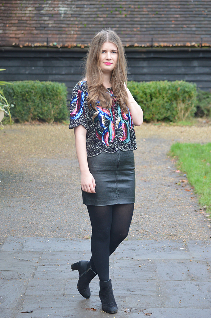 sequin top fashion bloggers