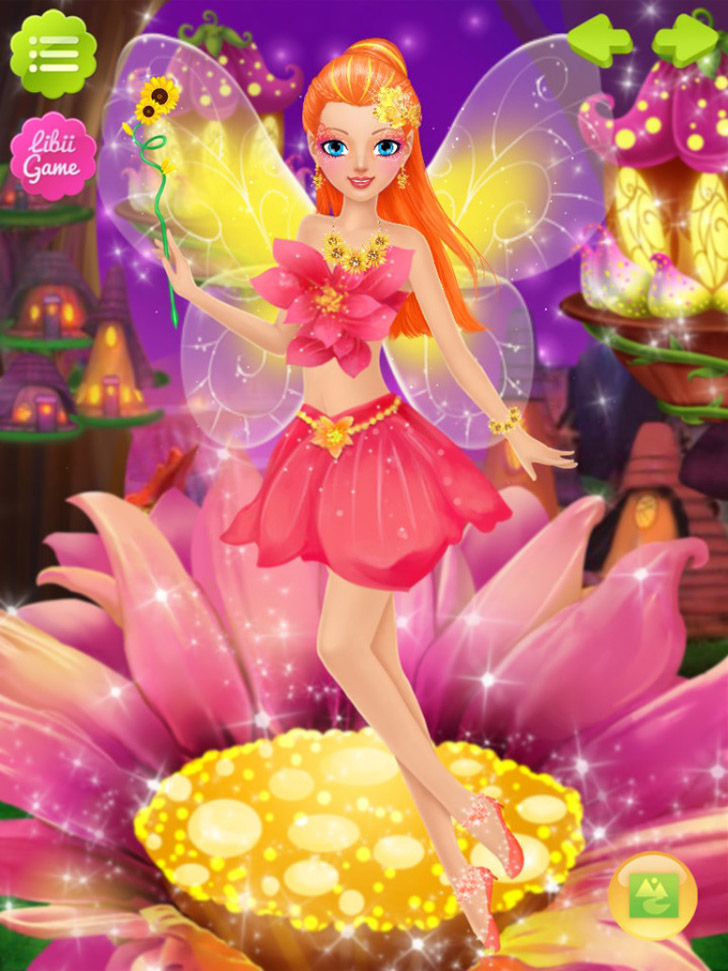 Fairy Salon App iTunes App By Libii Tech Limited - FreeApps.ws