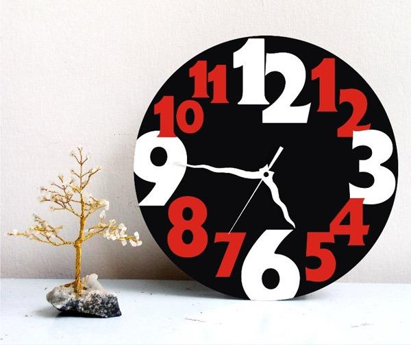 Wanduhren Modern Design Wanduhr Edge Clock Big Moderne: Desain Jam Dinding Modern Untuk Dekorasi Dinding