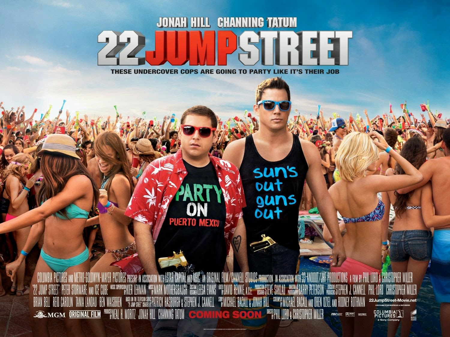 22 Jump Street Channing Tatum and Jonah Hill