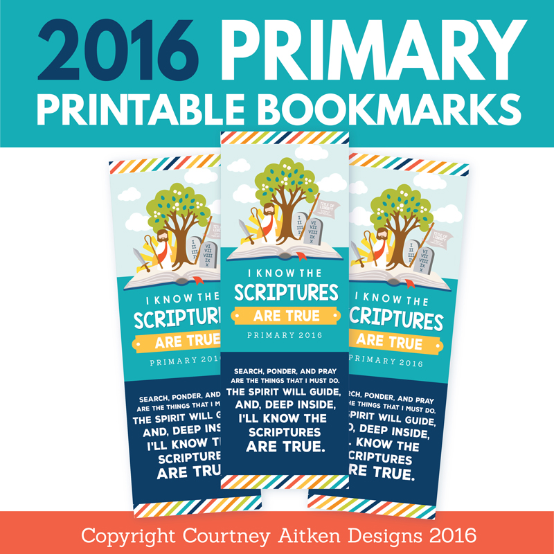 All Things Bright and Beautiful: 2016 Free Primary Printables