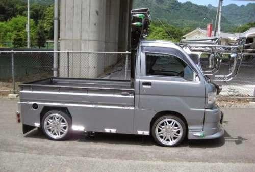 modifikasi modifikasi mobil pick up hijet