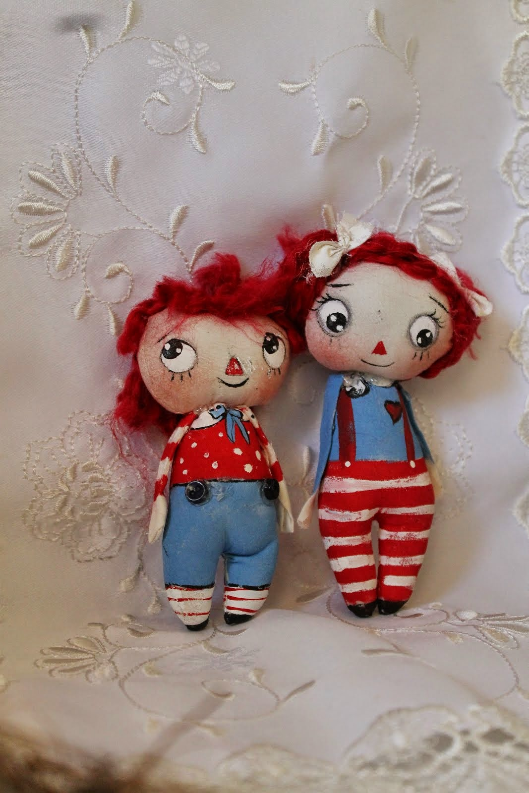 Raggedy Annie  and  Andy