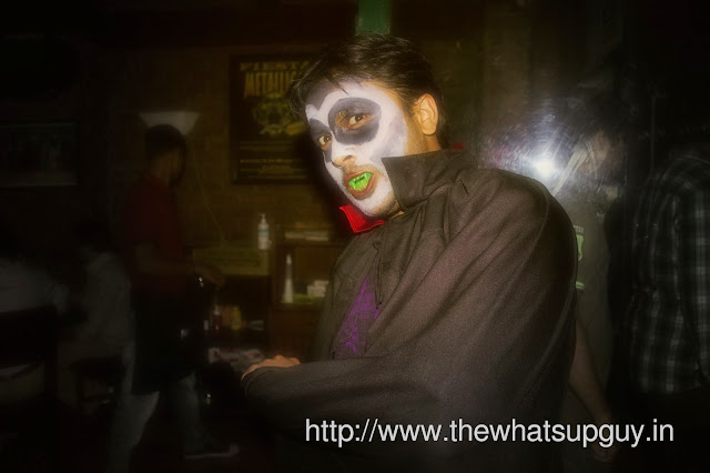 Vampire Costume in Toit Brewery