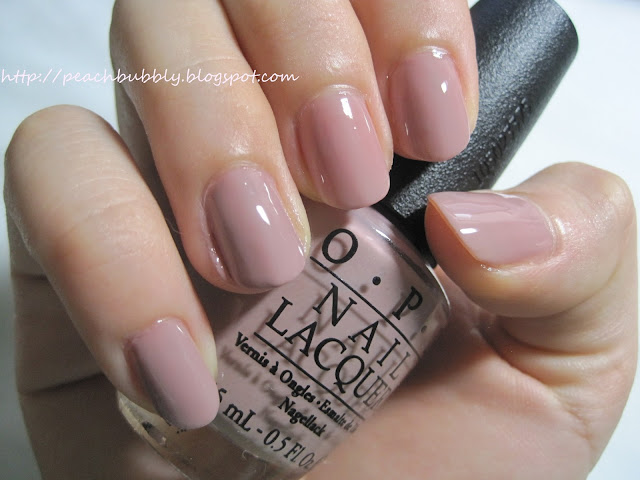 peachbubbly: OPI Tickle My France-y Swatch and Review