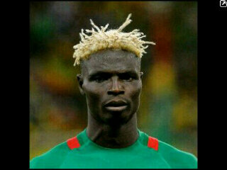 Bance Fancy blond dreads hair