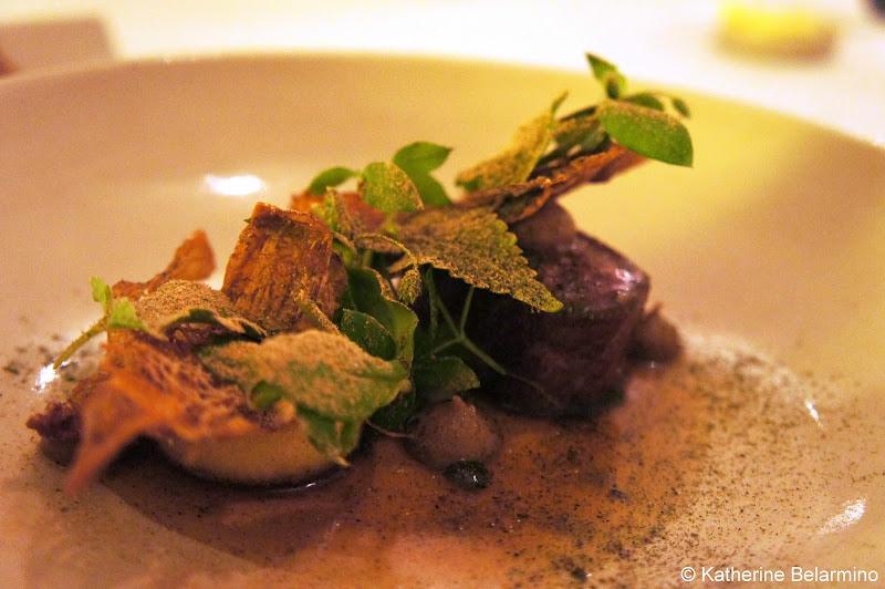 Lamb Parsnip Cep Mushrooms Restaurant AOC Copenhagen Denmark