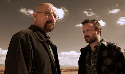 Escena donde Walter y Jesse hablan en el desierto.