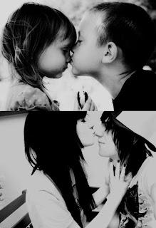 Imagenes bonitas de parejas besandose