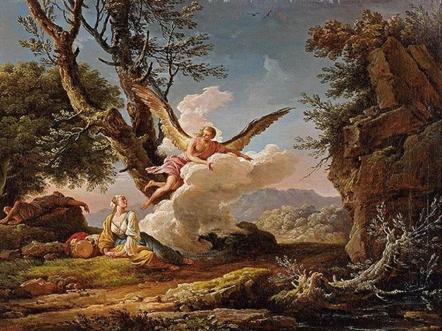 The Banishment of Hagar and Ishmael , 1753–1753