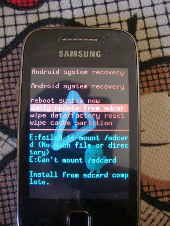 Cara Cepat Root Samsung Galaxy Y Young GT-S5360