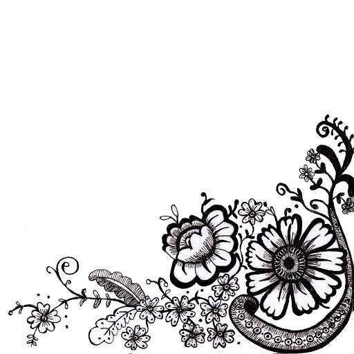 Variet de l minas para decoupage blanco y negro y a color for Imagenes bonitas en blanco y negro