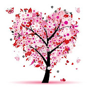 Sunday, April 14, 2013 (arbol de valentine amor hoja de corazones)