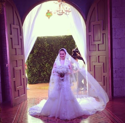 karylle and yael's wedding photo