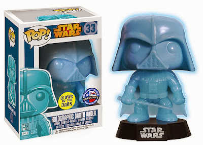 Dallas Comic Con 2014 Exclusive Glow in the Dark Holographic Darth Vader Star Wars Pop! Vinyl Figure by Funko