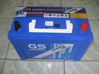 ขายแบตเตอรี่ จีเอส double-lid 105d31l-dl