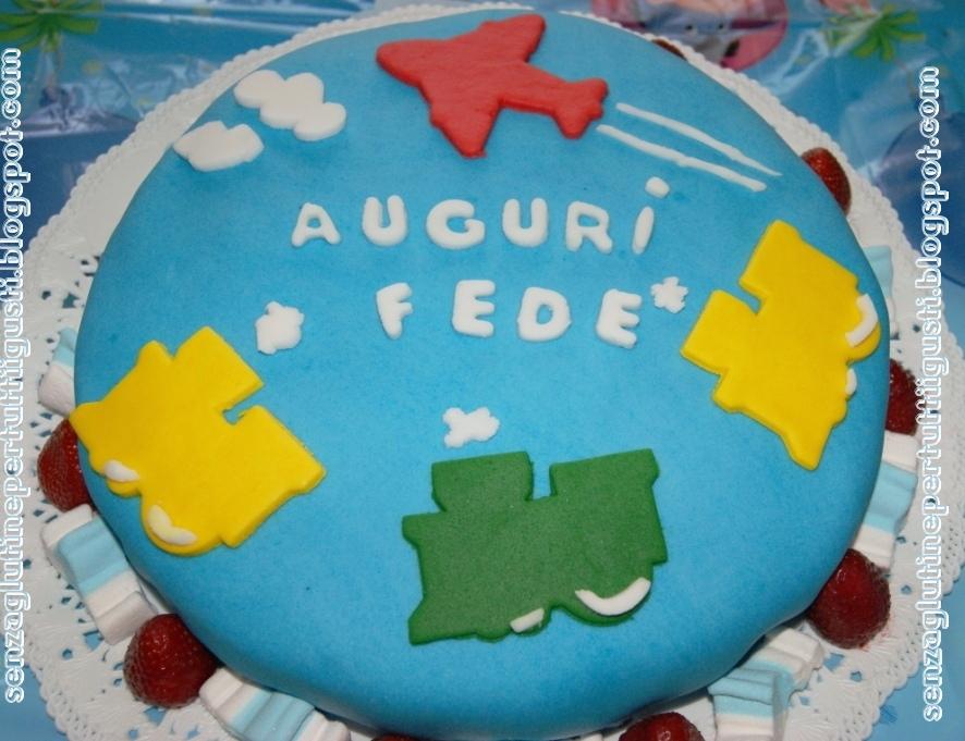Senza glutine per tutti i gusti torta ciuf ciuf in pdz for Decorazioni torte trenino thomas