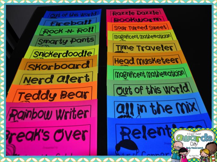 Classroom Award Ideas Elementary ~ Elementary shenanigans awards gifts