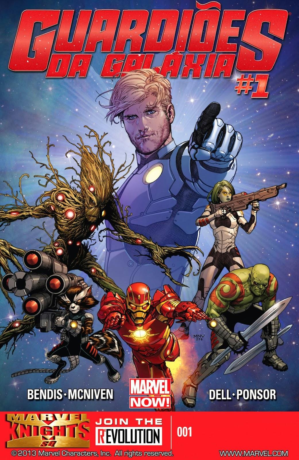 Guardiões da Galáxia #1