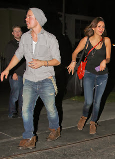 New Couple Derek Hough and Nina Dobrev Step Out for First Time Together