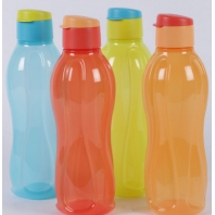 Buy Tupperware Multicolor Plastic 1000 ML Fliptop Bottle Set of 4 at Rs.556 : BuyToEarn