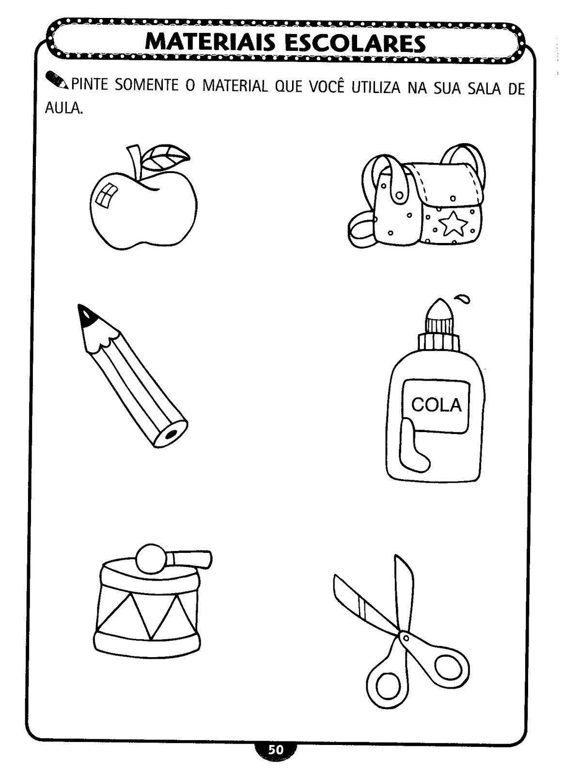 Atividades Para Imprimir E Aplicar No Primeiro Dia De Aula