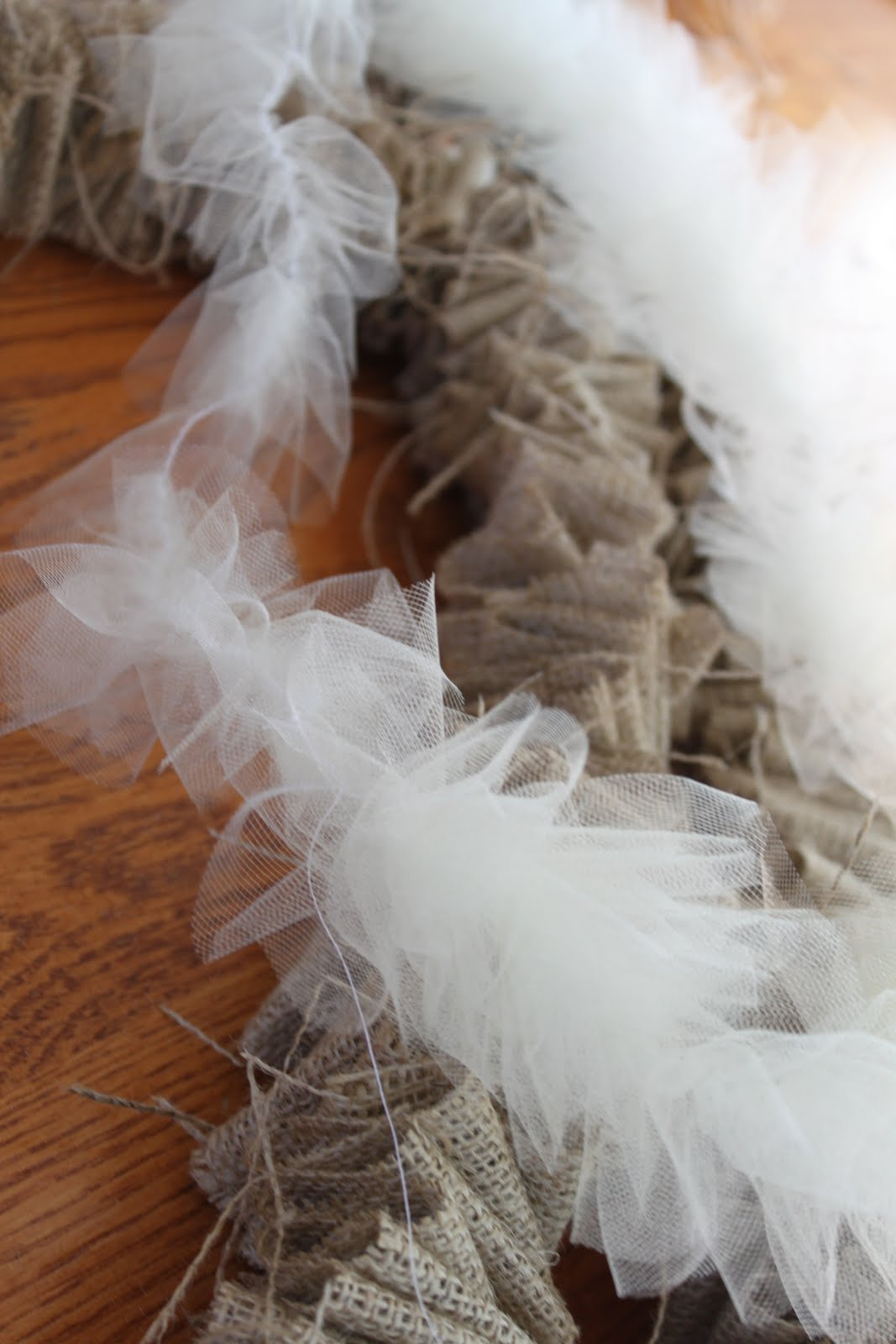 how to cut tulle strips