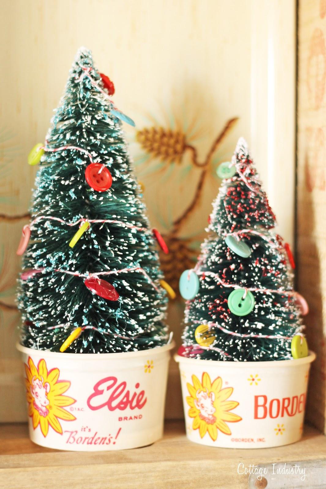Trees In Borden Cups