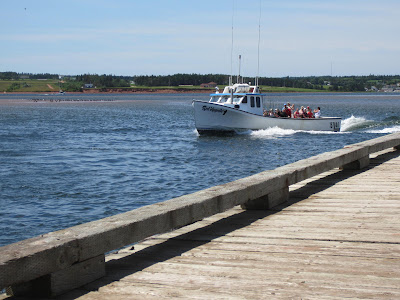 Lobster Fishing Boat North Rustico Harbour