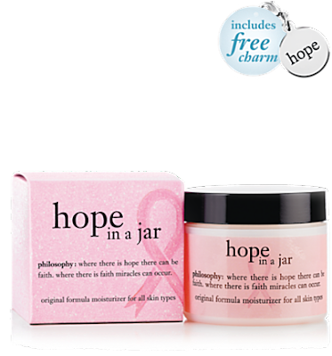 Philosophy, Philosophy Hope In A Jar, breast cancer awareness, Philosophy moisturizer, skin, skincare, skin care