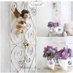 Romantican dom: Dekoracije u interijeru
