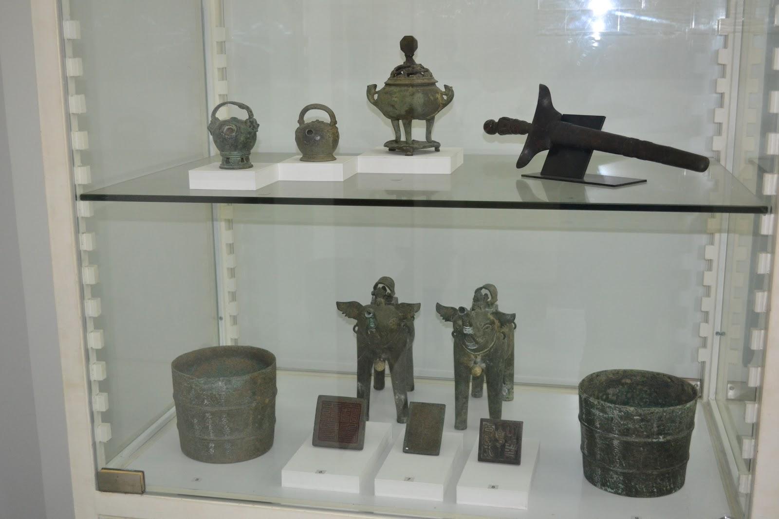 Artifact in museum