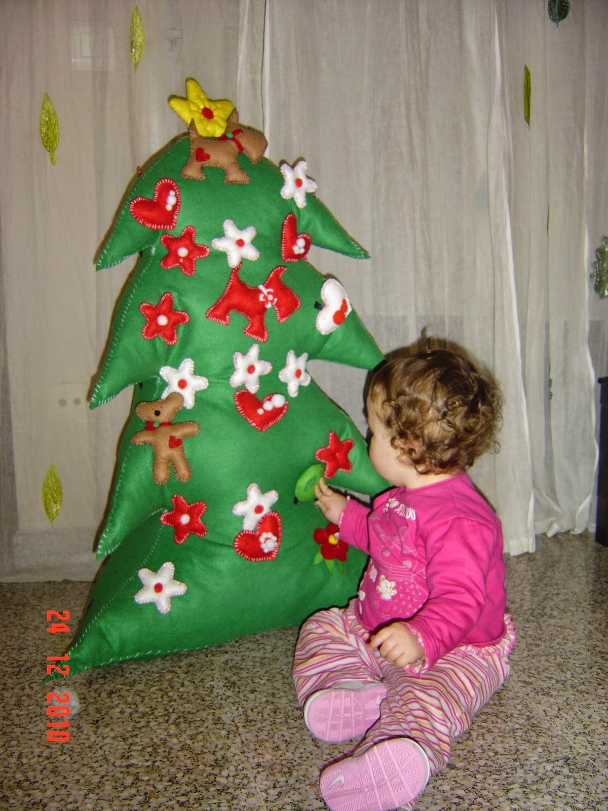 Fantástico Patrón Para Cortar Y Coser La Falda Del árbol De Navidad ...