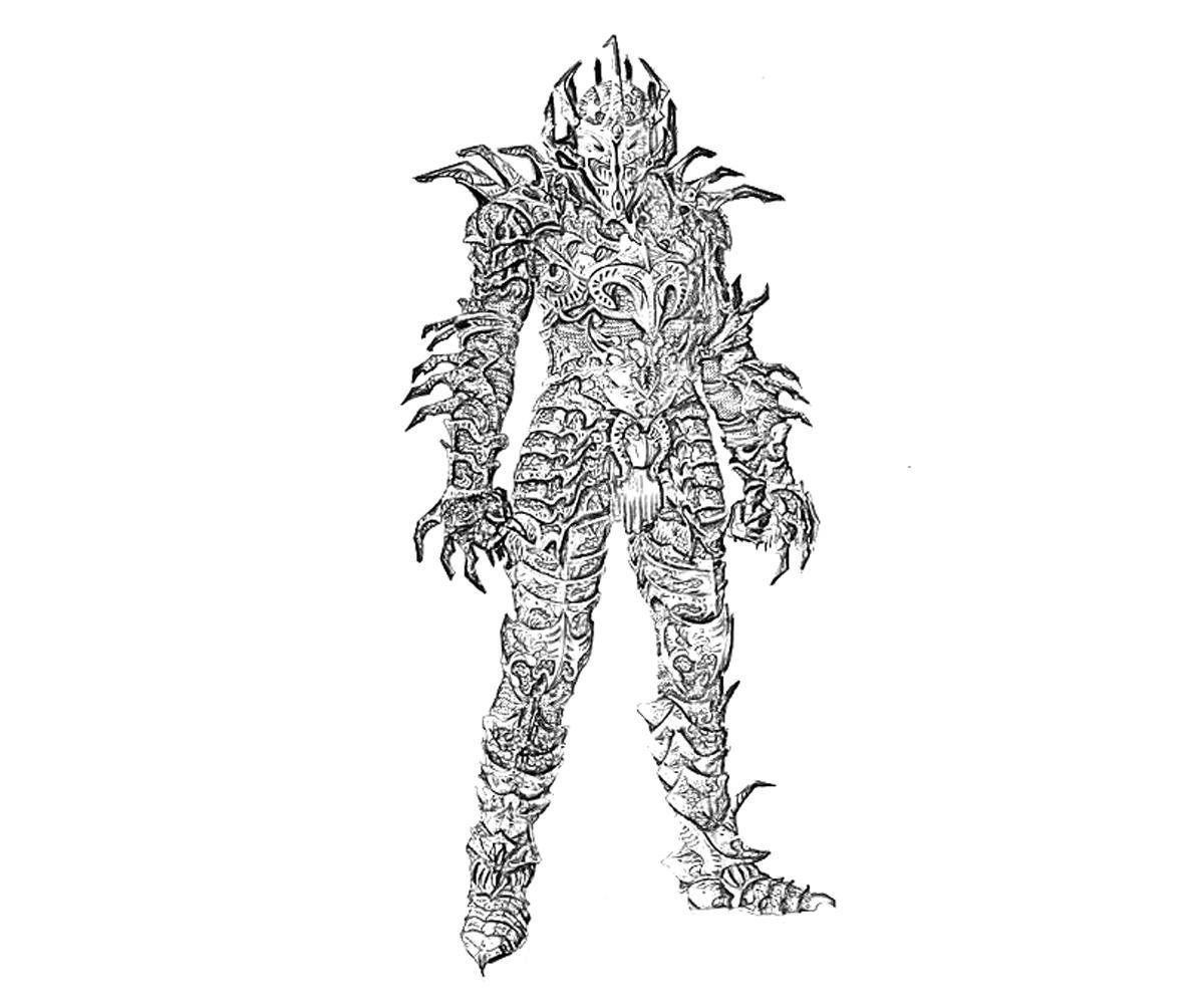Elder Scrolls Skyrim V Daedric Armor | Yumiko Fujiwara